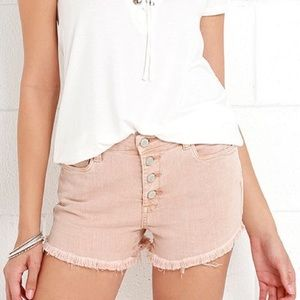 Blank NYC wedge shorts